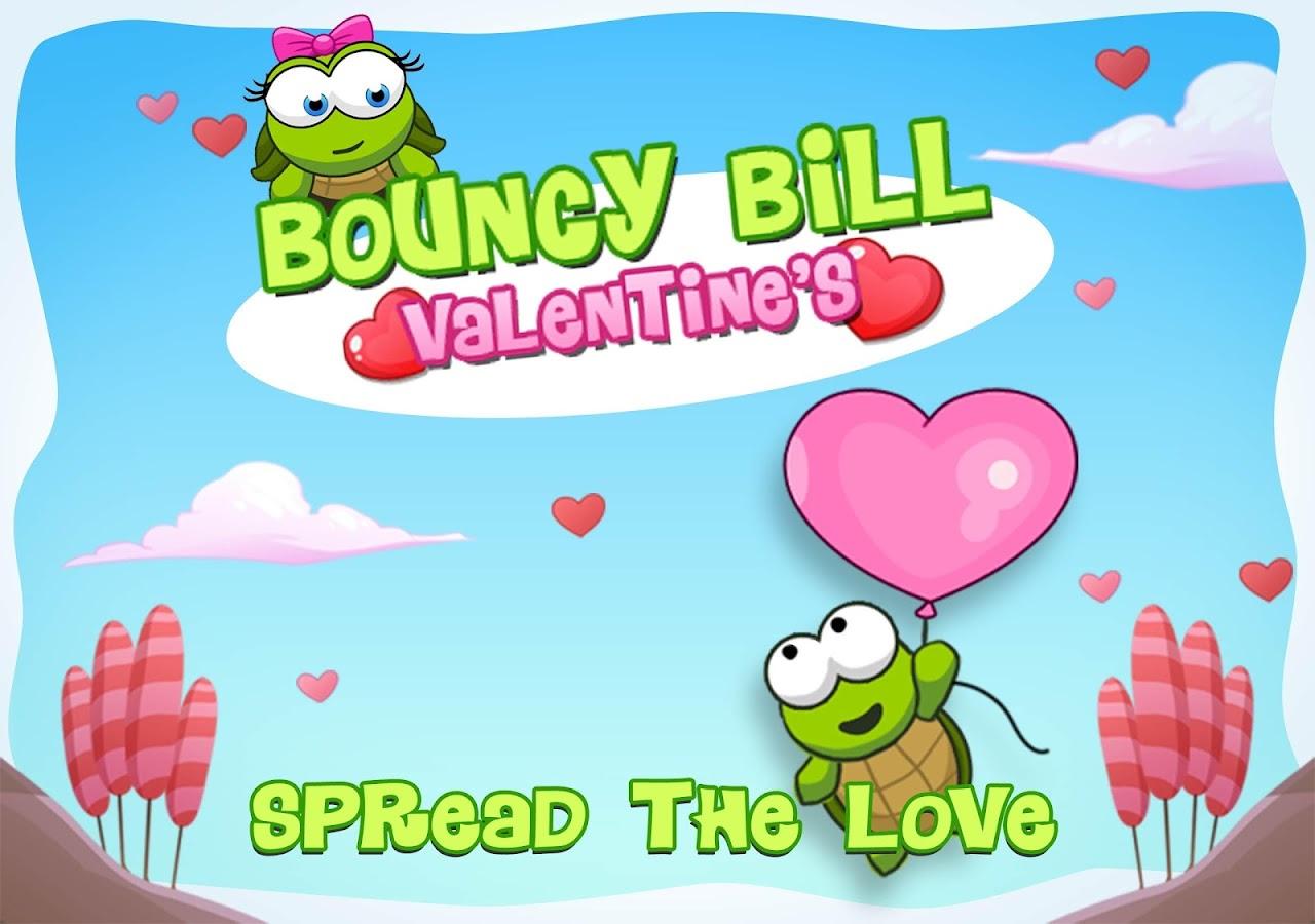 Bouncy Bill Valentine's Day - screenshot