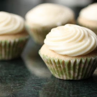 Chai Cupcakes With Honey-ginger Frosting.