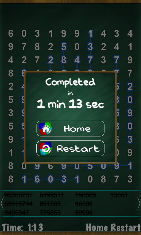 Number Search Puzzle- screenshot