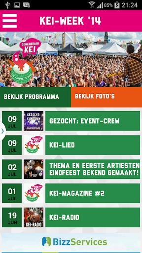 KEI-week App 2014