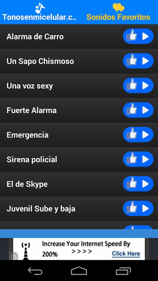 Tonos para Celular - screenshot