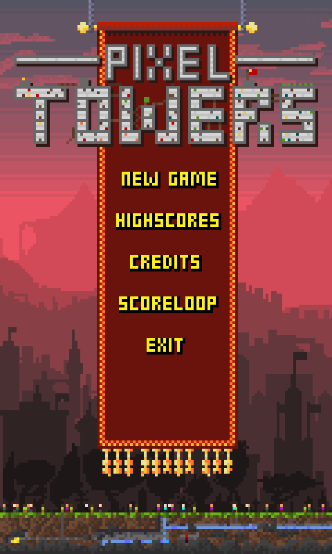 Pixel Towers- screenshot