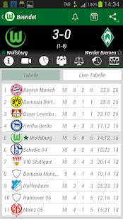 VfL Wolfsburg App - screenshot thumbnail