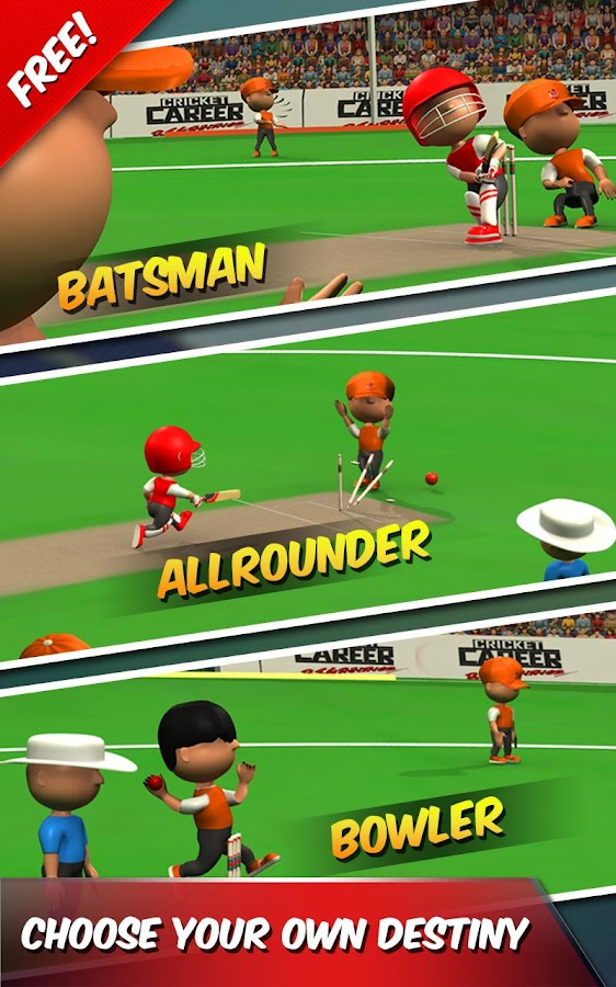 Cricket Career Biginnings 3D- screenshot