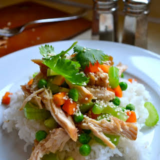 Slow Cooker Teriyaki Chicken.