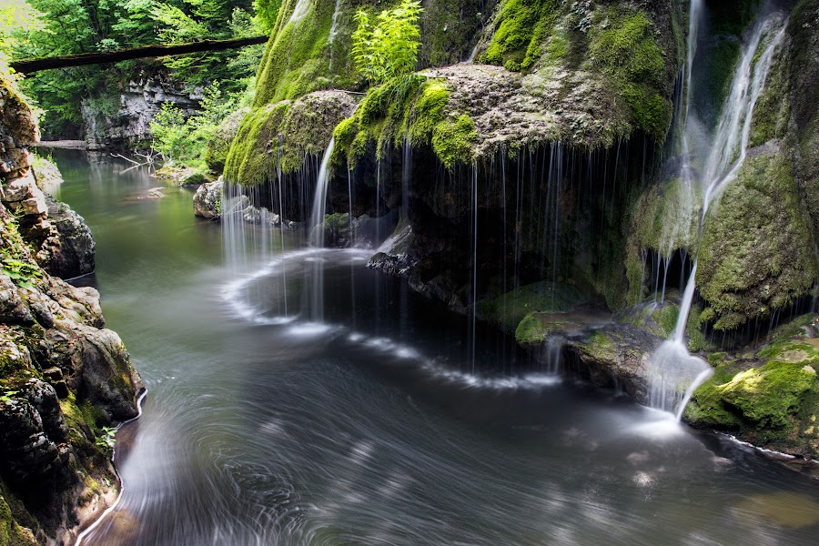 Majestic waters by Flavian Savescu - Nature Up Close Water ( , color, colors, landscape, portrait, object, filter forge )
