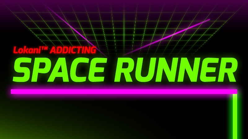 Lokani™ Addicting Space Runner- screenshot
