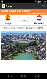 Oranje - WK 2014 - screenshot thumbnail
