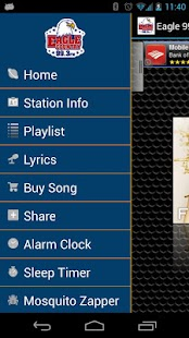Eagle 99.3 Android App - screenshot thumbnail