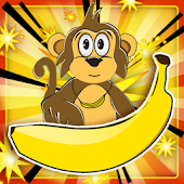 Greedy Monkey:Puzzle Game FREE