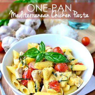 One-Pan Mediterranean Chicken Pasta (Gluten-Free)