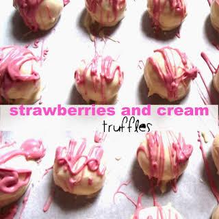 Strawberry Cream Truffles Recipes.