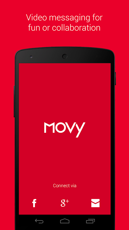 Movy - Video Messaging- screenshot