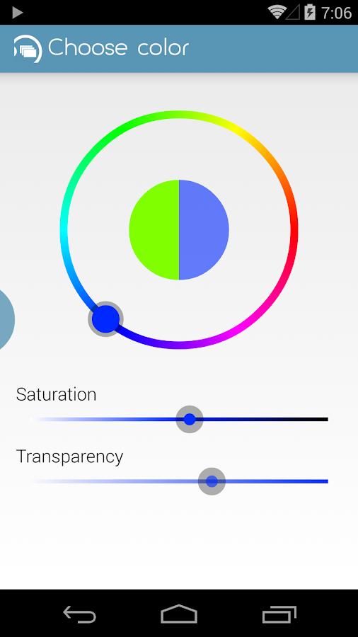 flippr - flip widgets anywhere - screenshot