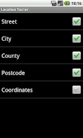 Screenshot of Location Texter