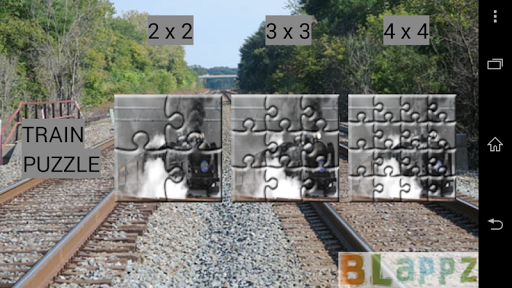 BLappz Train Puzzle