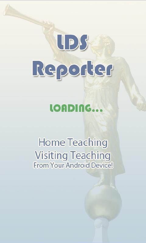 LDS Reporter- screenshot