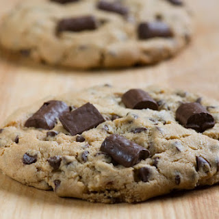 Salted Caramel Chocolate Chunk Cookies.
