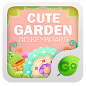 Cute Garden Go keyboard Theme