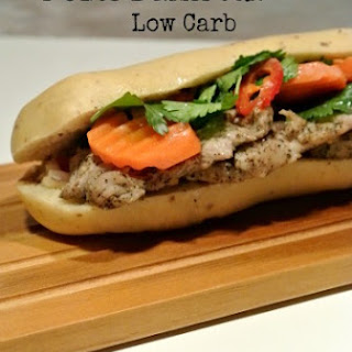 Pork Bahn Mi {Low Carb}.