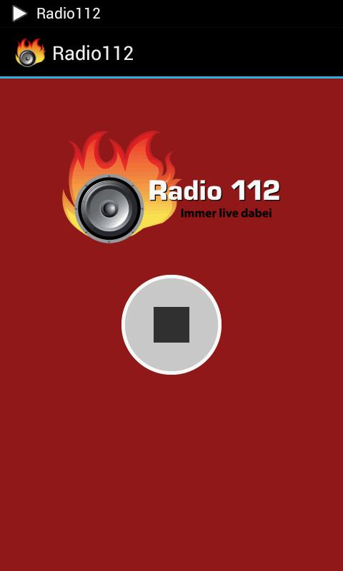Radio 112 – Screenshot