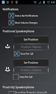 Speakerphone Control - screenshot thumbnail