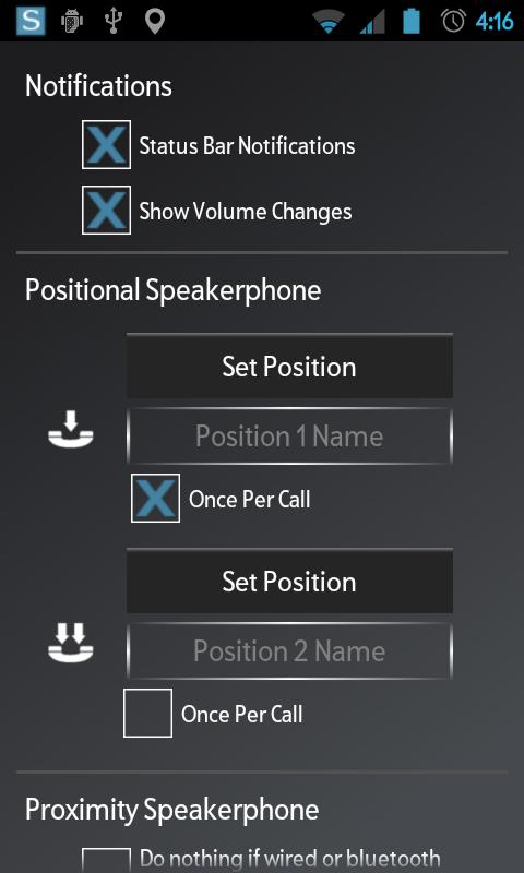 Speakerphone Control- screenshot