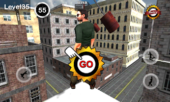 Screenshot of TightRope Walker 3D HD