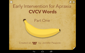 Apraxia - Early Intervention 1 1.7.104   app screenshot