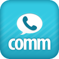 Comm: Free calls, texts & fun! APK for Blackberry