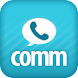 Comm: Free calls, texts & fun! icon