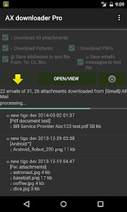 AX downloader Pro: attachment v24.2.3.4