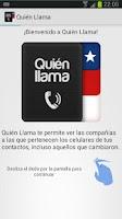 Screenshot of Quien Llama - Who is Calling