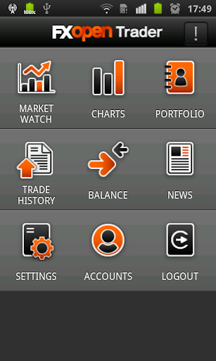 FXOpen TickTrader for Android