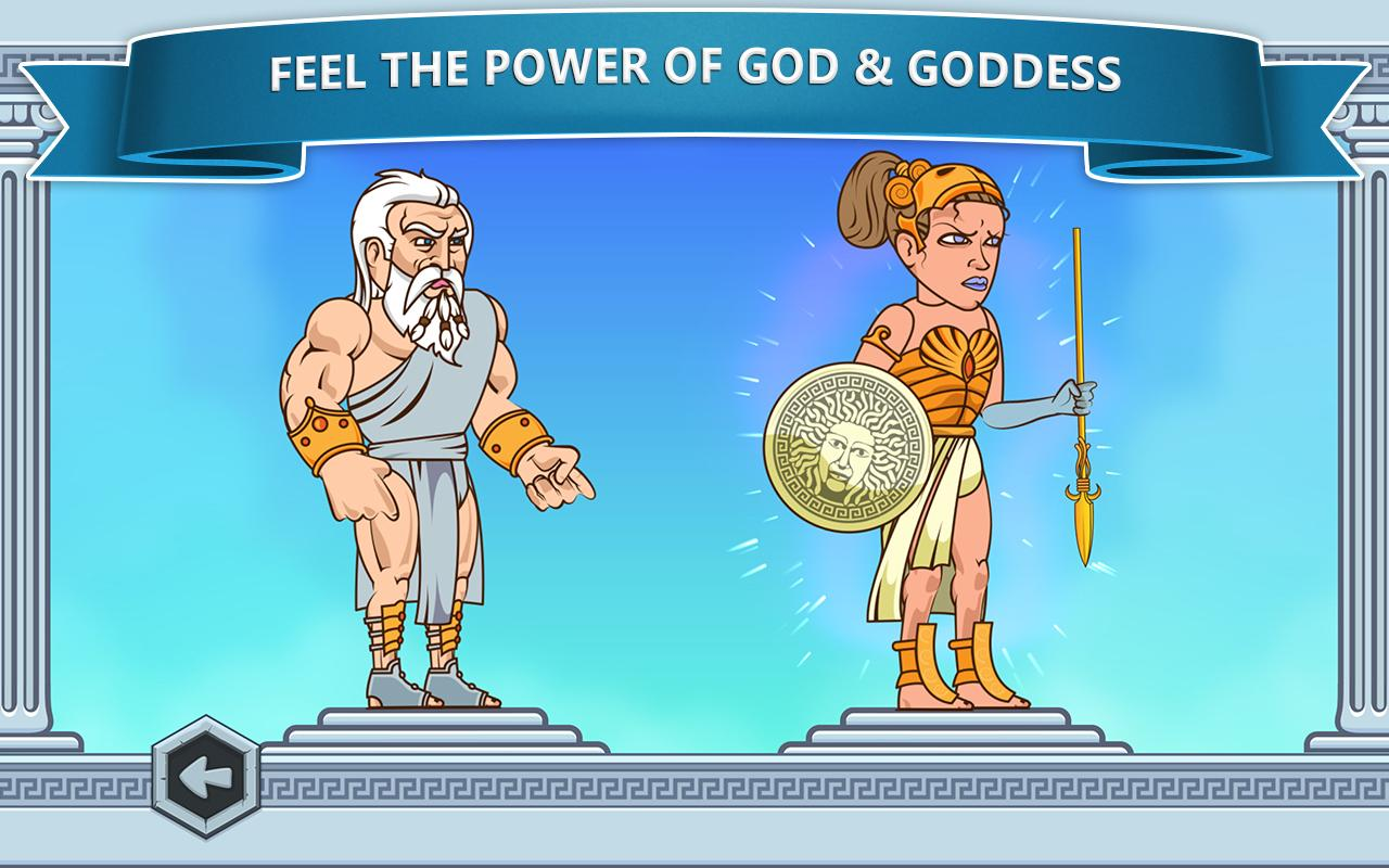 Math Games - Zeus vs. Monsters - screenshot