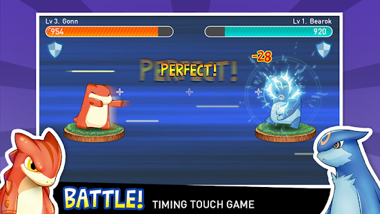 Tap Tap Monsters pocket dragon - screenshot thumbnail