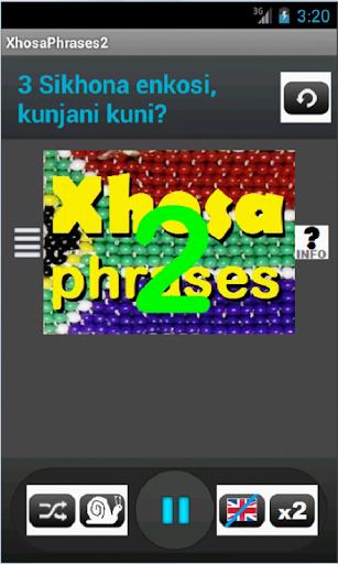 Xhosa Phrases 2 language tutor