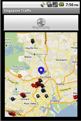 Traffic@SG - screenshot