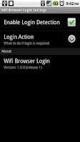 Screenshot of Wifi Browser Login