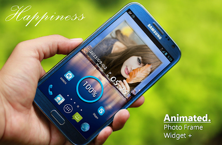 Animated Photo Frame Widget + v6.4.0