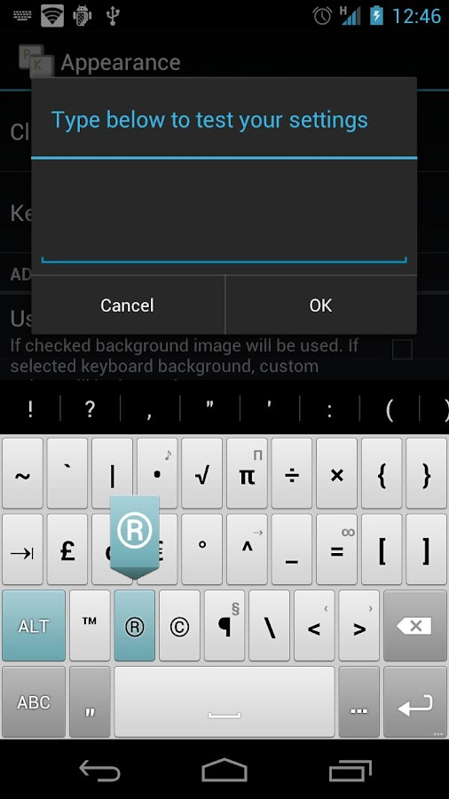Rapid - HD Keyboard Theme- screenshot