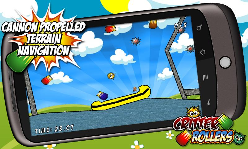 Critter Rollers Gold- screenshot