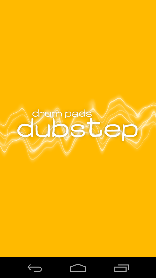 Dubstep Drum Pads - screenshot