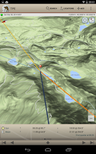 The Photographer's Ephemeris - screenshot thumbnail