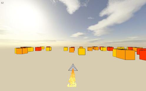 Cube Racer: A ship runner race