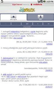 Ekşi Sözlük - screenshot thumbnail