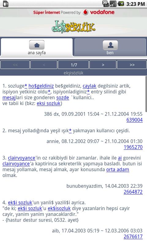 Ekşi Sözlük - screenshot
