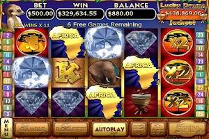 Screenshot of Kalahari Sun Slots FREE