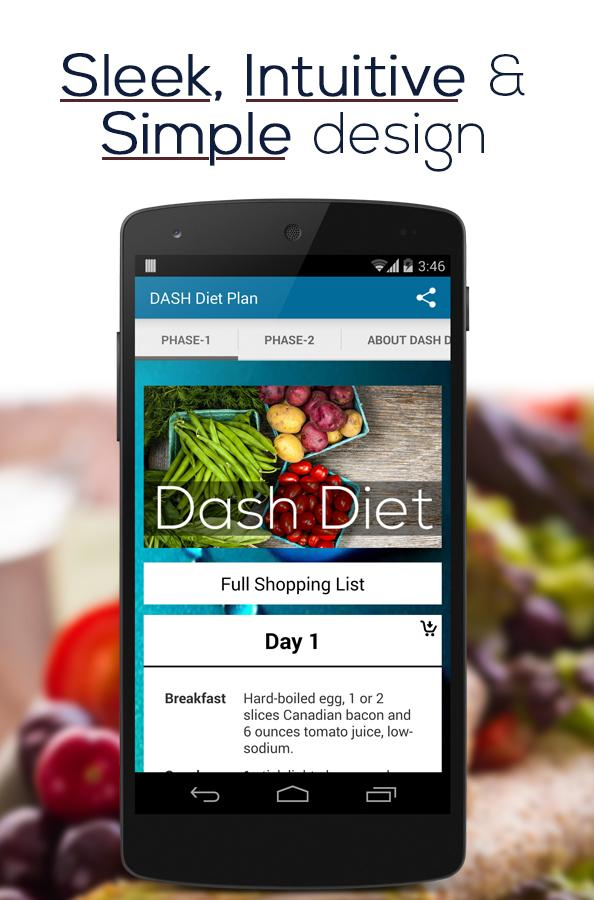 DASH Diet Plan- screenshot