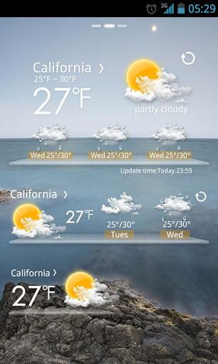 玩免費天氣APP|下載Moon Light GO Weather EX app不用錢|硬是要APP